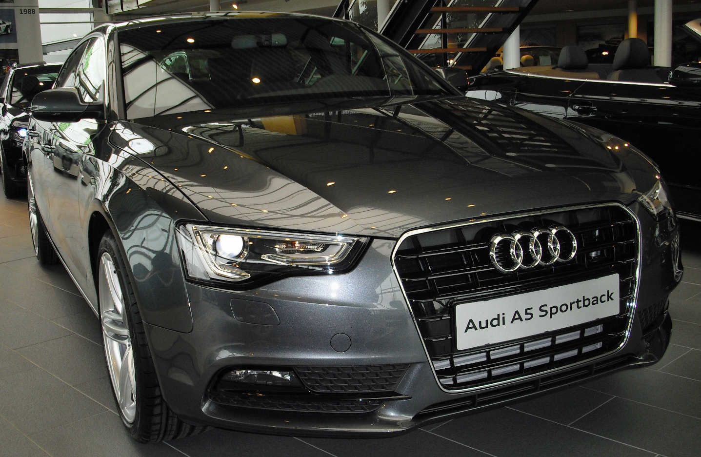 A5 Sportback neues Modell vorn ...