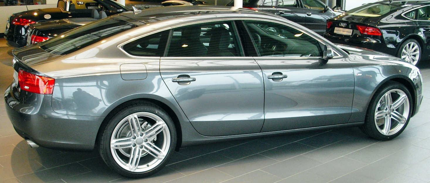 A5 Sportback neues Modell vorn A5 Sportback Facelift Seite ...