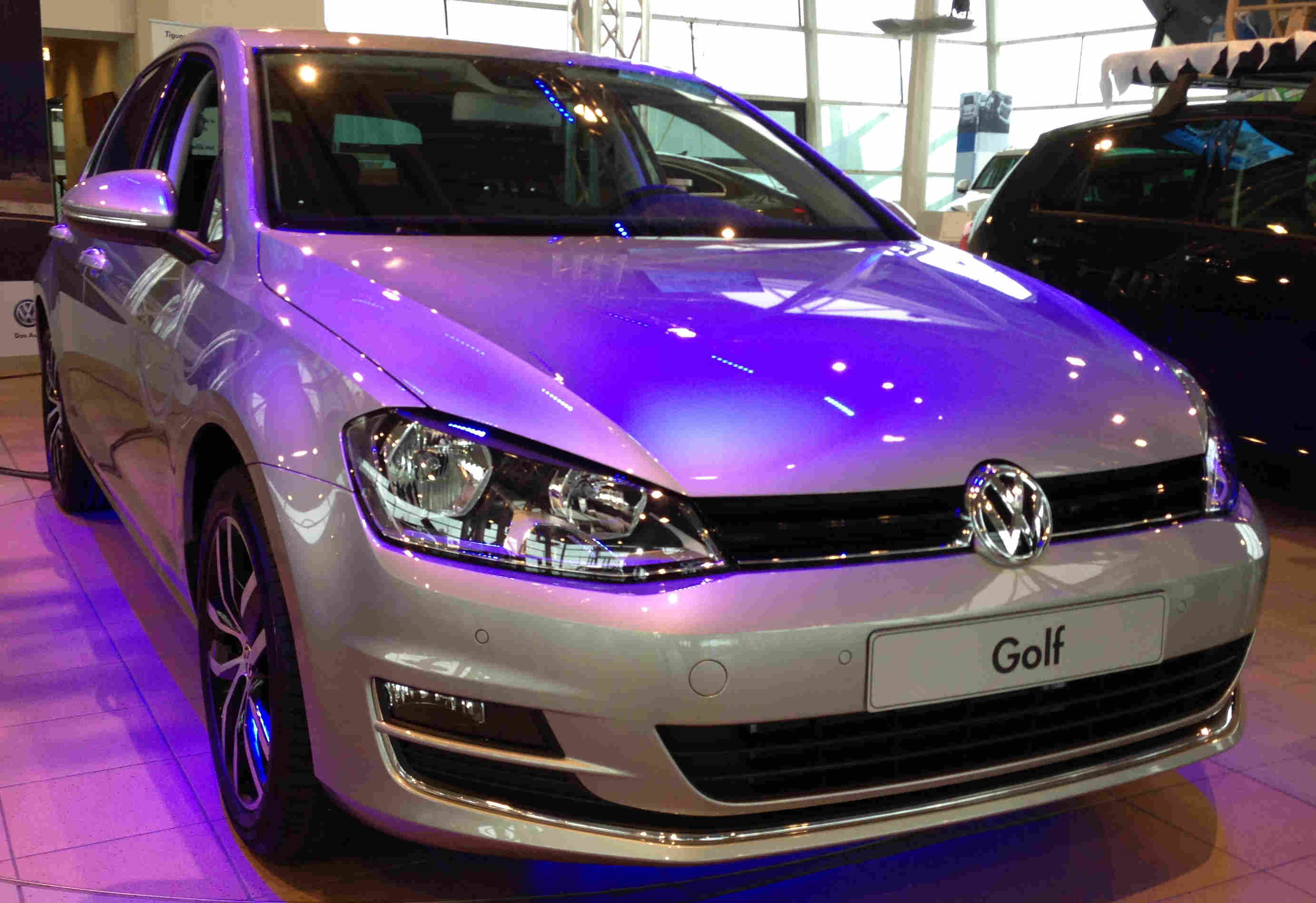 Golf 7 Highline grau