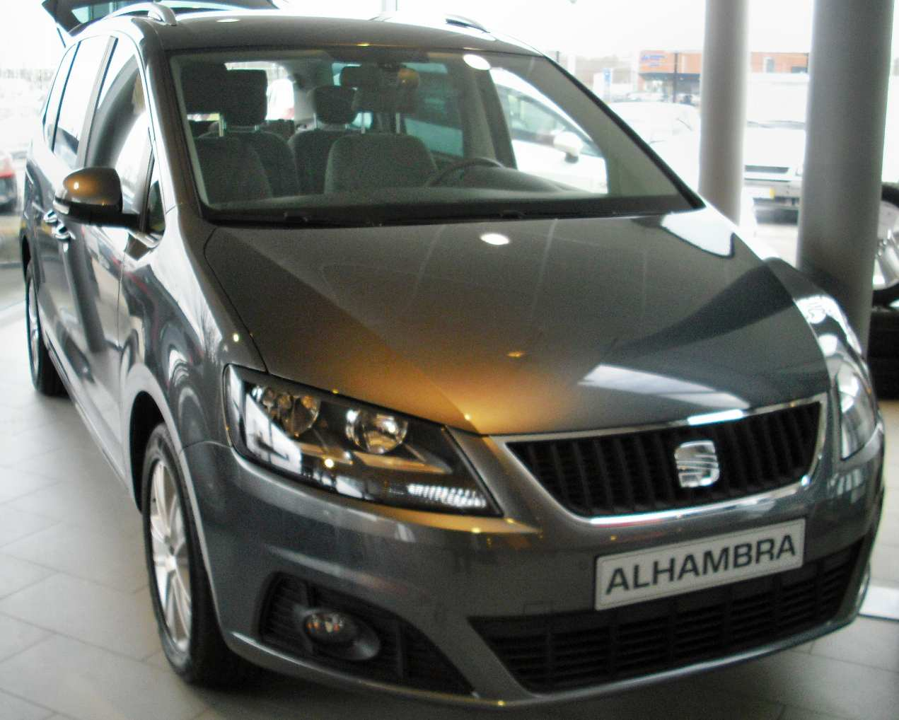 seat alhambra neues modell 2 0 tdi 140 ps ecomotive style 4x4 allrad dsg reference reimport 1 4. Black Bedroom Furniture Sets. Home Design Ideas