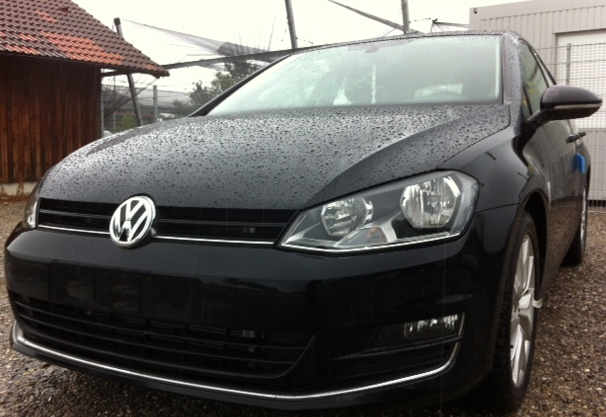 Golf 7 Highline schwarz