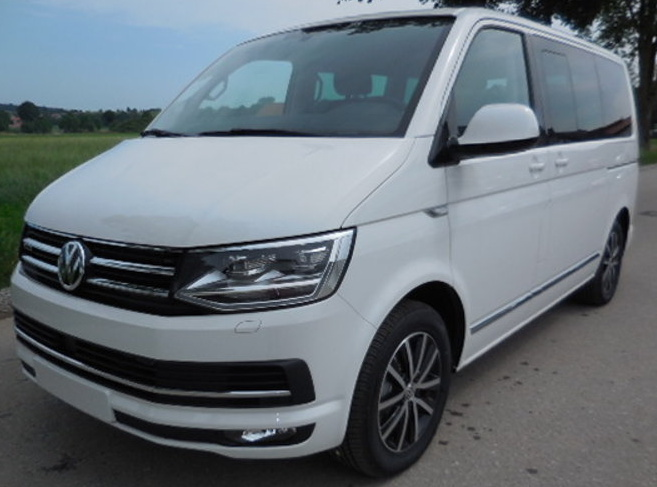 T6 multivan highline weiss