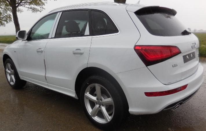 Audi Q5 S line neues Modell 2014 Modelljahr 2015 Export