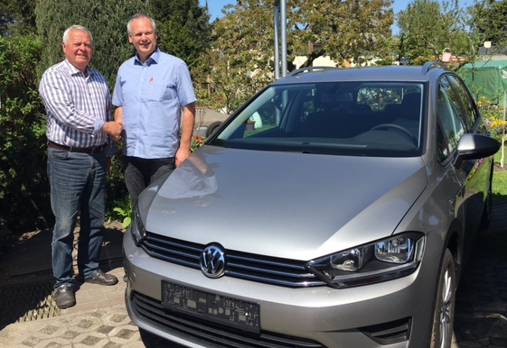 Golf Sportsvan nach Berlin